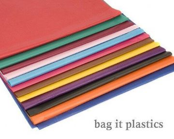 "TISSUE PAPER x 100 SHEETS VARIOUS COLOUR 20"" x 30"" / 500mm x 750mm / 50cm x 75cm"